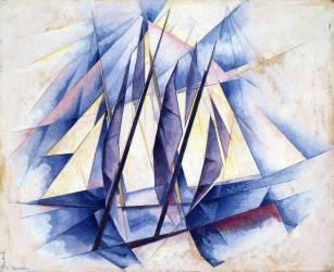 Bateaux à voiles (Charles Demuth) - Muzeo.com