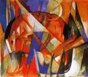 Bête fabuleuse II (Franz Marc) - Muzeo.com