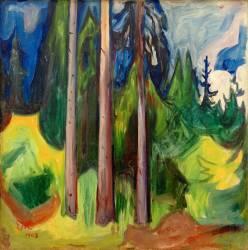 Bois (Edvard Munch) - Muzeo.com