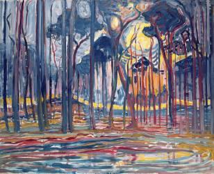 Bois près de Oele (Mondrian Piet) - Muzeo.com