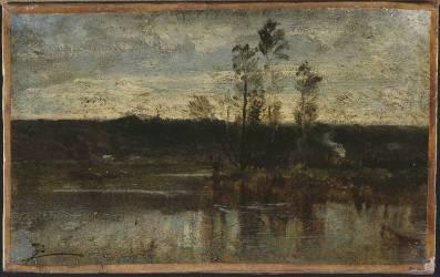 Bord de rivière (Félix Ziem) - Muzeo.com