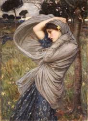 Borée (John William Waterhouse) - Muzeo.com