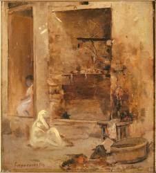 Boucherie à Alger, étude (Seignemartin Jean) - Muzeo.com
