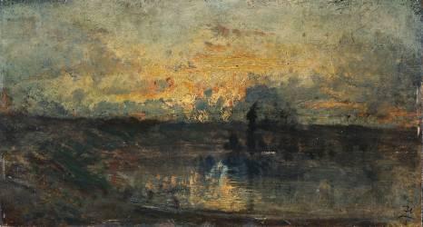 Boucle de rivière (Félix Ziem) - Muzeo.com