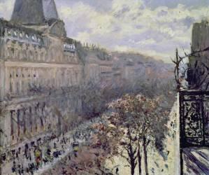 Boulevard des Italiens (Gustave Caillebotte) - Muzeo.com