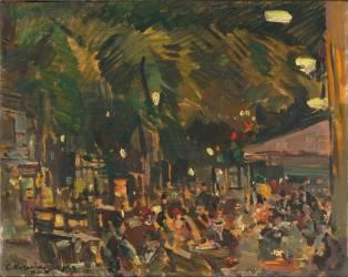 Boulevard des Italiens, à Paris (Korovine Constantin) - Muzeo.com