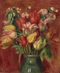 Bouquet de tulipes (Auguste Renoir) - Muzeo.com