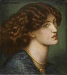 Bruna Brunelleschi (Dante Gabriel Rossetti) - Muzeo.com