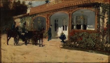 Café (Giuseppe de Nittis) - Muzeo.com
