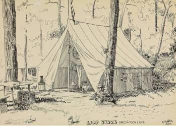 Camp Nyack, Greenwood Lake (Hopper Edward) - Muzeo.com
