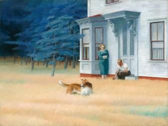 Cape Cod Evening (Edward Hopper) - Muzeo.com