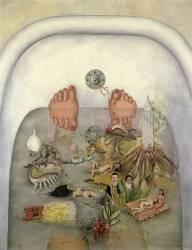 Ce que j'ai vu dans l'eau ou ce que l'eau m'a donné (Frida Kahlo) - Muzeo.com