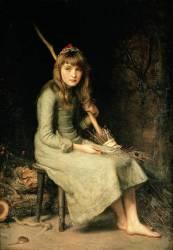 Cendrillon (John Everett Millais) - Muzeo.com