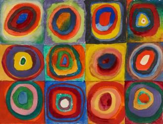 Cercles Concentriques (Wassily Kandinsky) - Muzeo.com