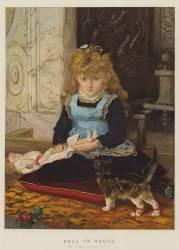 Chat Botté (John Everett Millais) - Muzeo.com