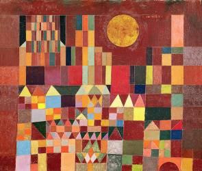 Chateau et soleil (n°201) (Klee Paul) - Muzeo.com
