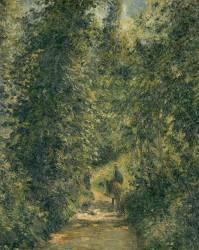 Chemin sous bois en été (Camille Pissarro) - Muzeo.com