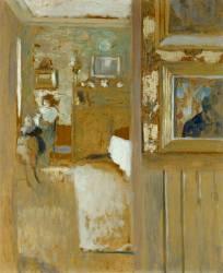 Chez Maurice Denis à Saint-Germain-en-Laye (Edouard Vuillard) - Muzeo.com