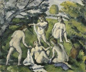 Cinq baigneuses (Cézanne Paul) - Muzeo.com