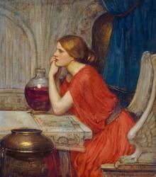 Circé (John William Waterhouse) - Muzeo.com