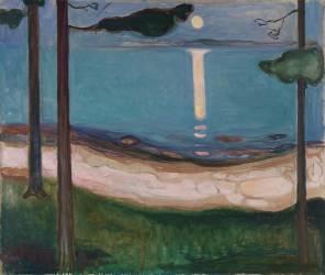 Clair de lune (Edvard Munch) - Muzeo.com