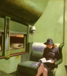 Compartment C, Car 293 (Edward Hopper) - Muzeo.com