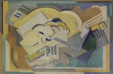 Composition abstraite (Mainie Jellett) - Muzeo.com