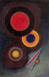 Composition avec des cercles et des lignes (Kandinsky Wassily) - Muzeo.com