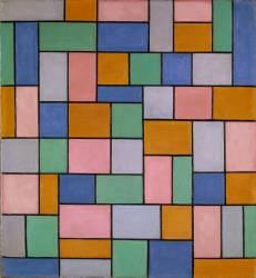 Composition en Dissonances (Theo van Doesburg) - Muzeo.com