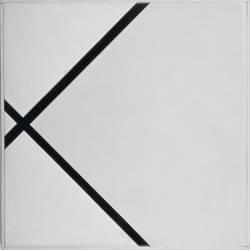 Composition en losange en deux lignes (Mondrian Piet) - Muzeo.com