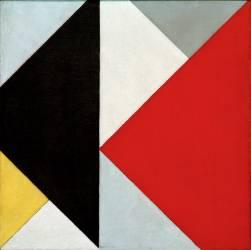 Composition en opposition (Theo Van Doesburg) - Muzeo.com