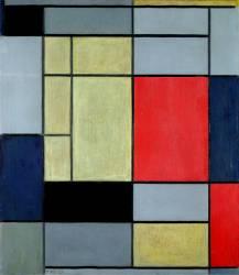 Composition I (Mondrian Piet) - Muzeo.com