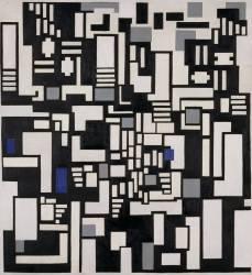 Composition IX, opus 18 (Theo van Doesburg) - Muzeo.com