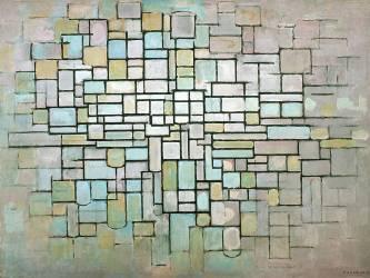 Composition n°II (Mondrian Piet) - Muzeo.com