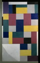 Composition (Peinture pure) (Theo Van Doesburg) - Muzeo.com