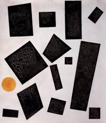 Composition Suprématiste (Malevitch Kazimir) - Muzeo.com