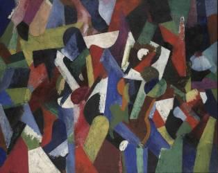 Composition V (Patrick Henry Bruce) - Muzeo.com