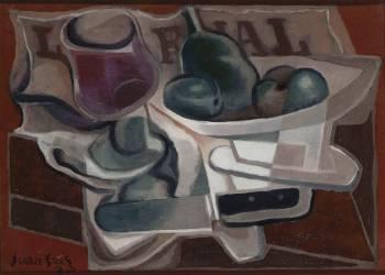 Compotier et verre (Juan Gris) - Muzeo.com