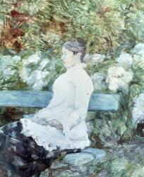 Comtesse Lautrec, Mère du Peintre (Henri de Toulouse-Lautrec) - Muzeo.com