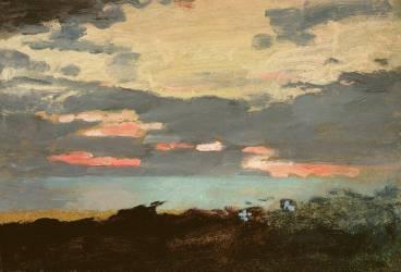 Coucher de Soleil (Winslow Homer) - Muzeo.com