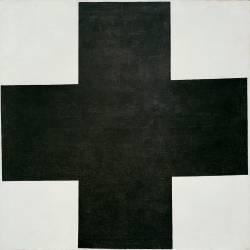 Croix Noire (Kazimir Malevitch) - Muzeo.com