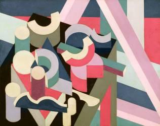 Cube Composition #1 (Patrick Henry Bruce) - Muzeo.com