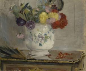 Dahlias (Berthe Morisot) - Muzeo.com