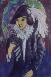 Dame dans le Parc (Ernst Ludwig Kirchner) - Muzeo.com