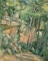 Dans le parc de Château-Noir (Paul Cézanne) - Muzeo.com