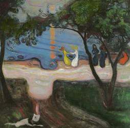Danse sur la plage (Edvard Munch) - Muzeo.com