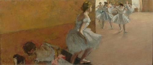 Danseuses montant un escalier (Degas Edgar) - Muzeo.com