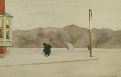 Le jour après les funérailles en 1925 (Edward Hopper) - Muzeo.com