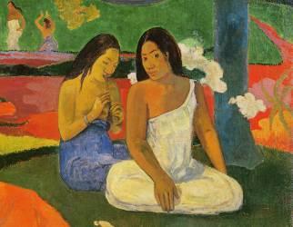 Détail d'Arearea (Joyeusetes) (Paul Gauguin) - Muzeo.com