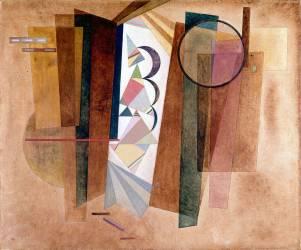 Développement en brun (Kandinsky Wassily) - Muzeo.com
